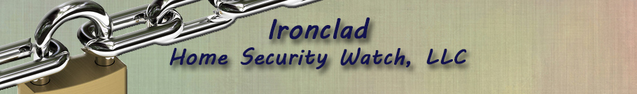 Ironclad Home Security Watch Banner
